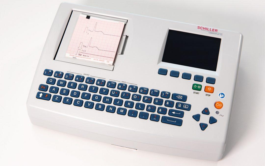 EKG Schiller Cardiovit AT-101